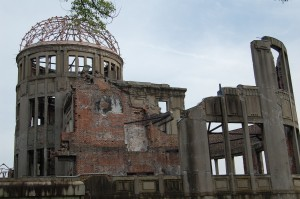 Hiroshima, The A Bomb Dome-still standing